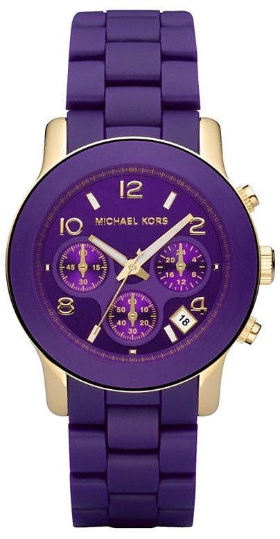 it would figure that the first watch to make me want one other than my own is another michael kors...i love that umpa lumpa