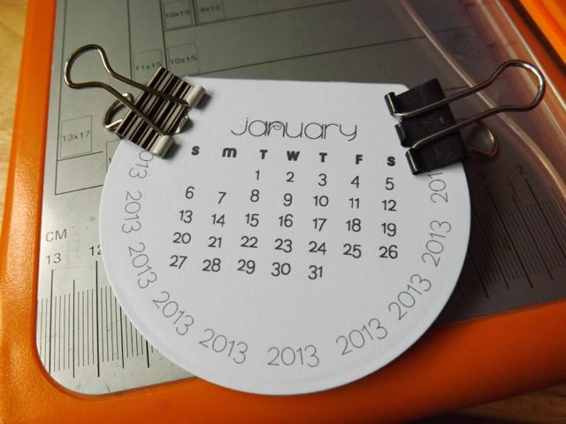 making a calendar in pages