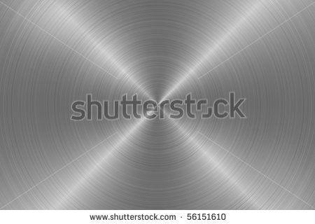 Metal disc surface