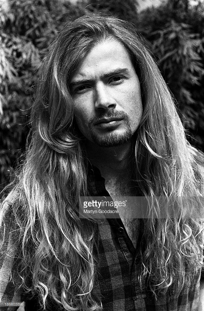 Dave Mustaine of Megadeth, portrait, London , United Kingdom, 1992.