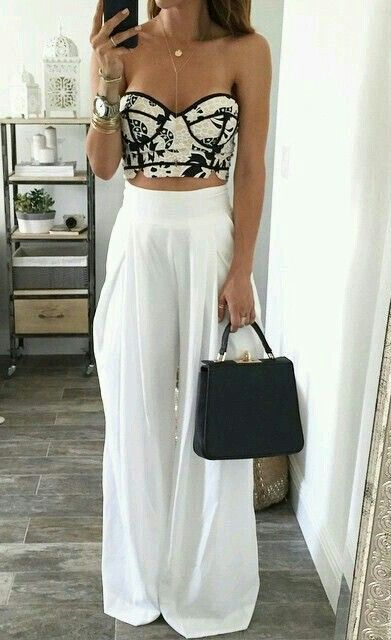 Outfit here is perfect for a summer party