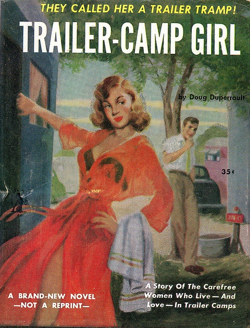 Trailer-Camp Girl Reading Materials- LOL