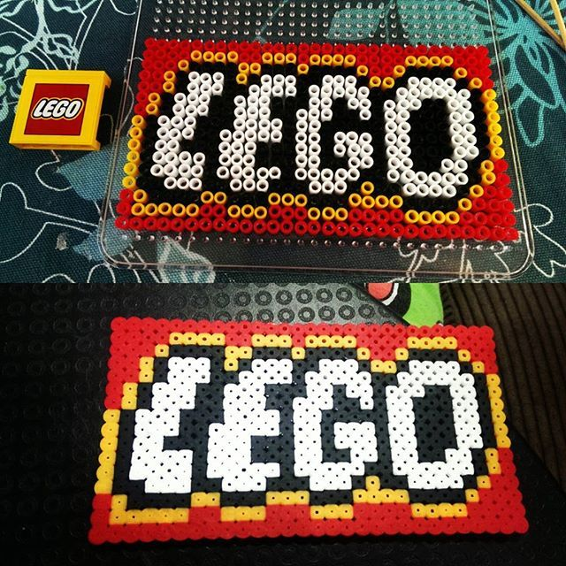 Beads Company Logo: 17 Best Images About Lego Perler Beads/Pixel Art On