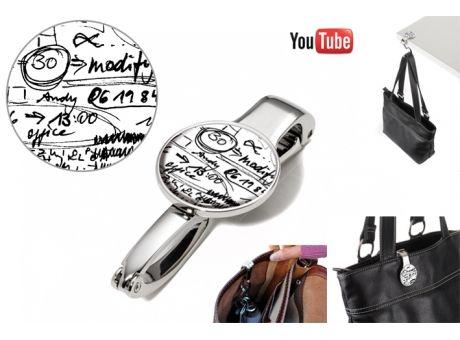 TROIKA Taschenclip und - halter PHONE SCRIBBLES | Werbeartikel und Werbemittel zum Bedrucken mit Logo | Erwin Lang Werbeartikel