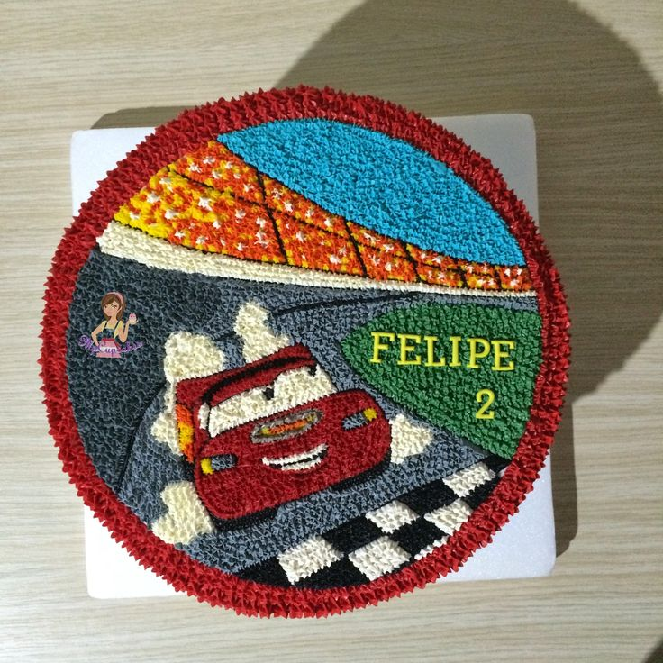 Ms de 25 ideas increbles sobre Torta de disney cars en Pinterest