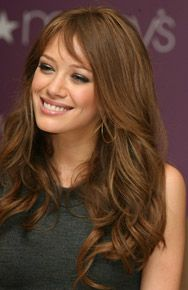 Really like this hair colour...Medium walnut brown brunette hair with a touch of highlights to produce a great colour