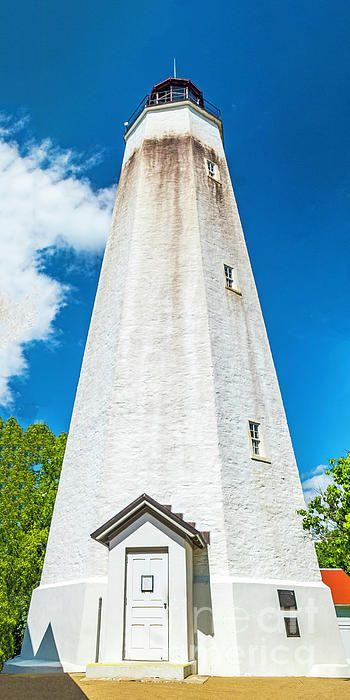 Lighthouse Tower At Sandy Hook NJ