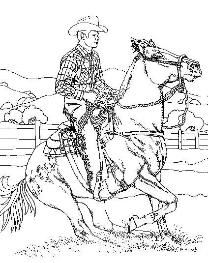 horses_35 Adult coloring pages