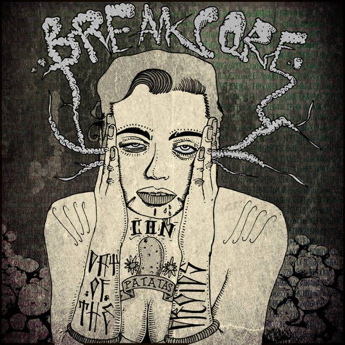 DOTD007 BREAKCORE CON PATATAS VOL1 cover art