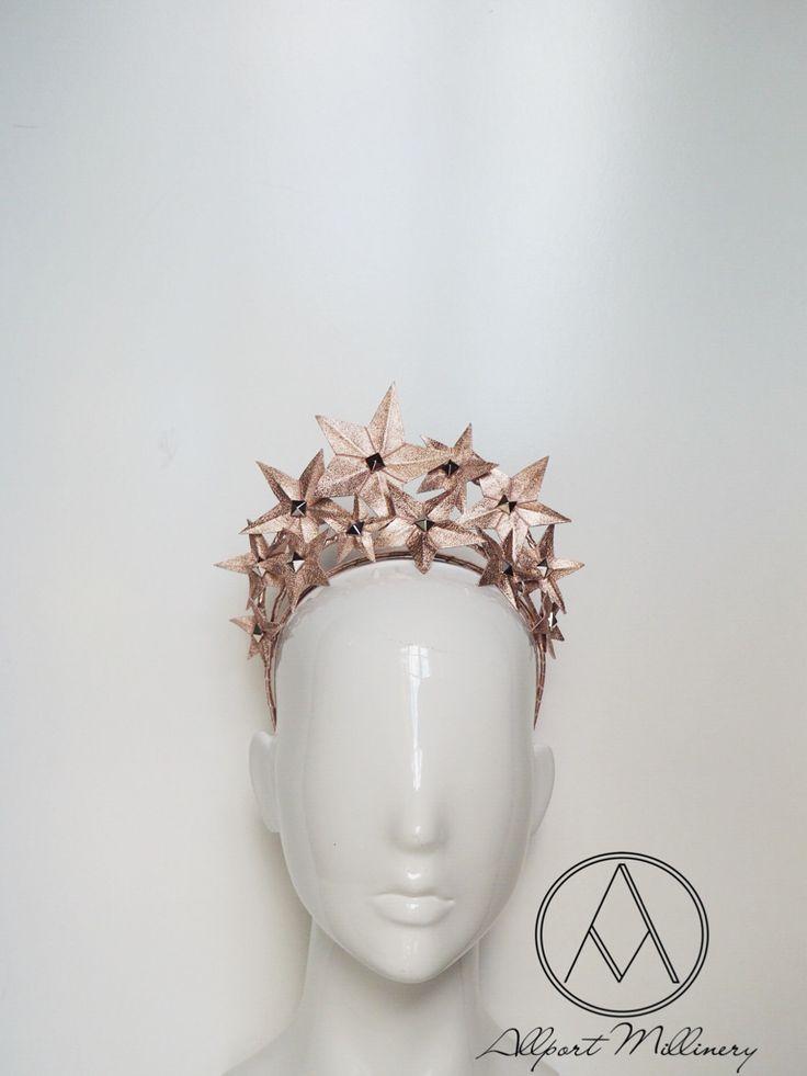Stargazer - Rose Gold / Allport Millinery