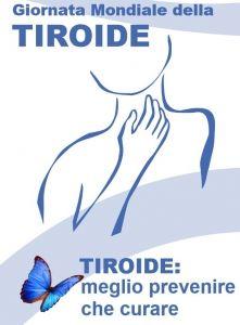 25 maggio è la GIORNATA MONDIALE della TIROIDE, istituitaper sensibilizzare tutti sulle malattie di questa importantissima ghiandolae fare il punto della s