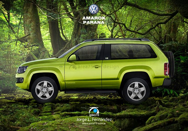 VW Amarok Parana.  It's always interesting to see what carmakers offer in other markets.
