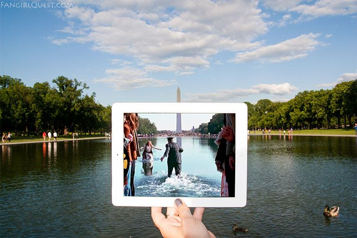 We Travel To Famous Movie Locations And Photograph Them In Real Life | Forrest Gump
