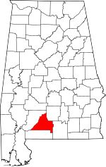 "Conecuh County, Founded 1818 * Conecuh was named for the Creek term ""koha anaka"" meaning ""near canebrakes."" * On July 27, 1813, the Battle of Burnt Corn Creek, one of the more significant battles of the Creek War of 1813-14, took place in what was then Conecuh County. * Conecuh County was the site of a home for the widows and orphans of Alabama's Confederate soldiers. Originally called the Louise Short Baptist Widows' and Orphans' Home, on June 14, 1923, it was moved to Troy and renamed."