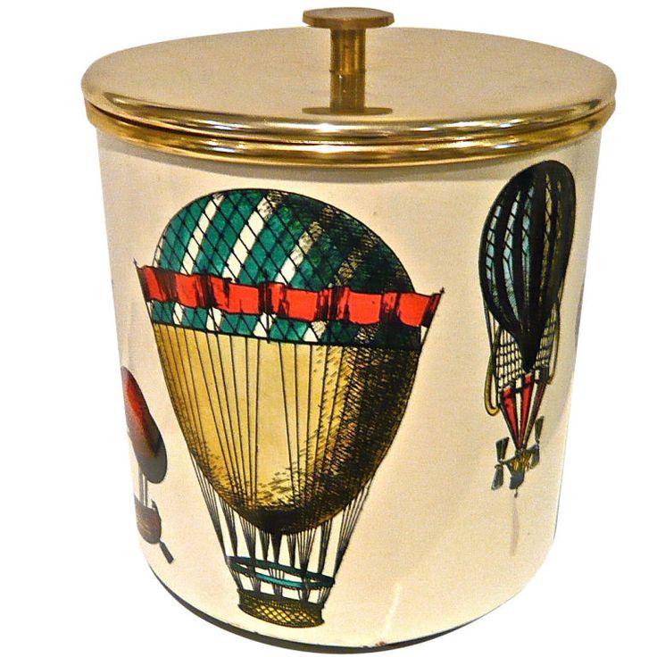 Fornasetti Ice Bucket: 1950's eyecandy for your bar