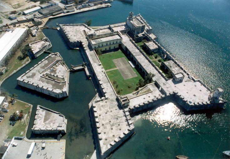 Fort of San Juan de Ulua in Veracruz, Mexico