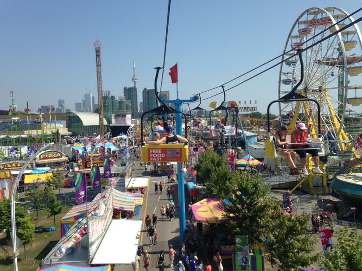 Canadian National Exhibition - the main Toronto fair in late August