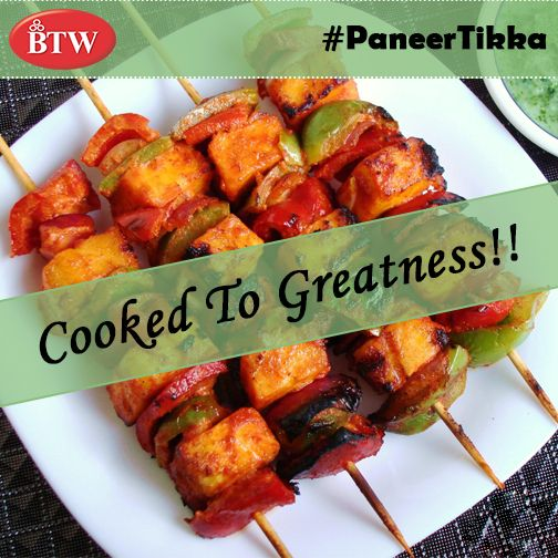 Can You Resist This Delicious Delicacy?  #PaneerTikka #BTW #foodporn #thegreatindianfoodie #foodie #nomnom #Vegetarian #fattoush #DelhiDiaries #cuisine #FoodDiaries #indianfood #foodtalkindia #paneer. #eeeeeats #desi  #foodlove #superfoodie #delhi #fresh #tasty #yummyinmytummy