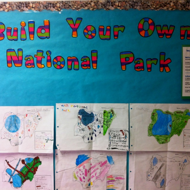 11 best national parks images on pinterest classroom ideas build your own national park project publicscrutiny Image collections
