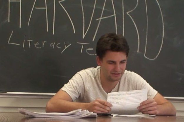 """""""Write the word backwards frontwards."""" // Harvard Students Took The 1964 Louisiana Voter Literacy Test And Failed"""
