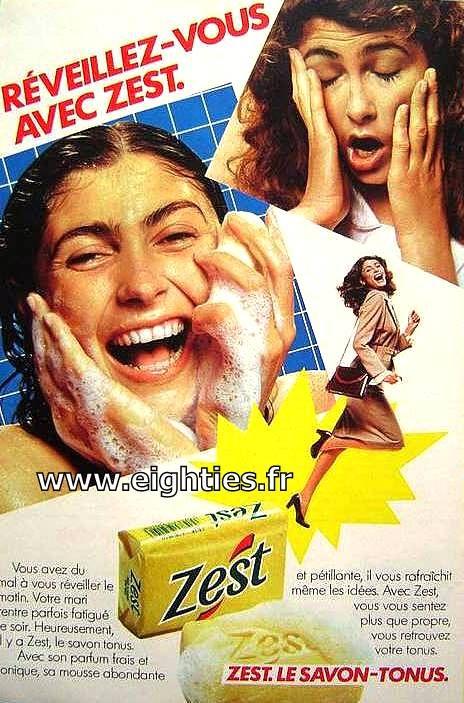 J'adorais le parfum de ce savon ! Ça me rappelle les colonies de vacances....