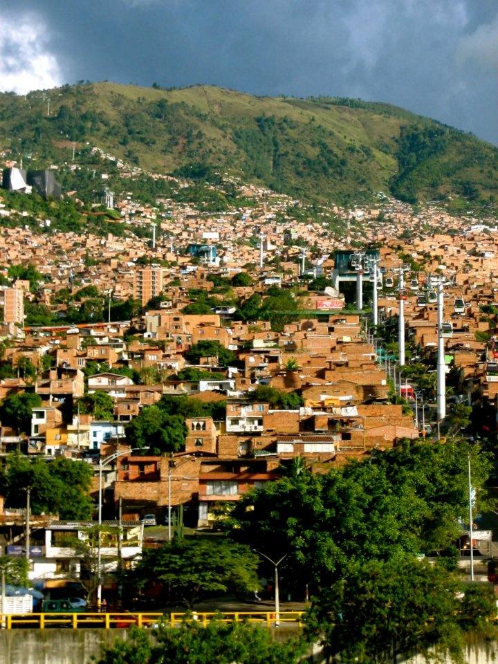 Al norte de Medellin