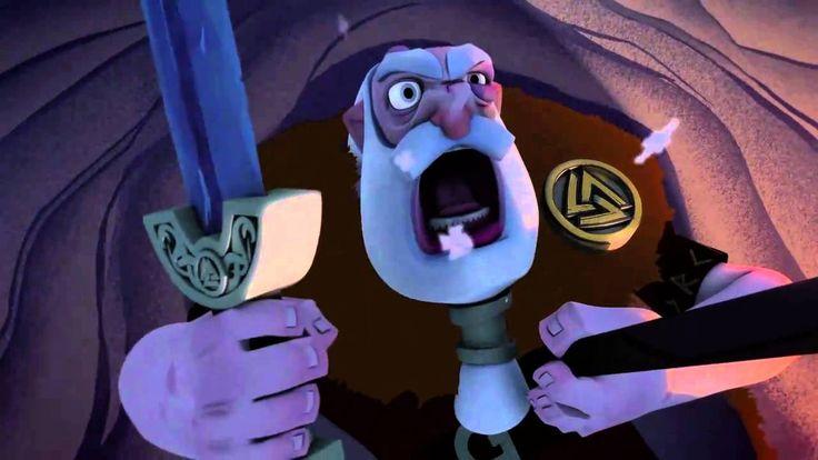 Animation shortmovie: The Saga of Biorn