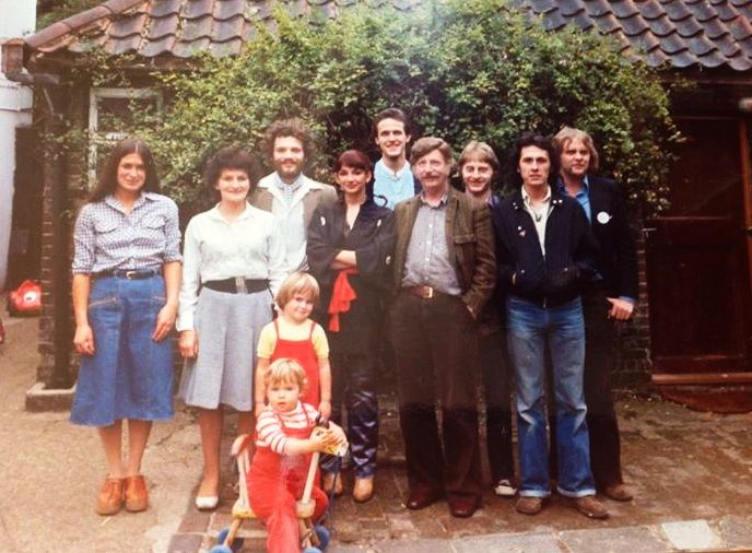 Kate Bush With Her Parents Brothers And Friends