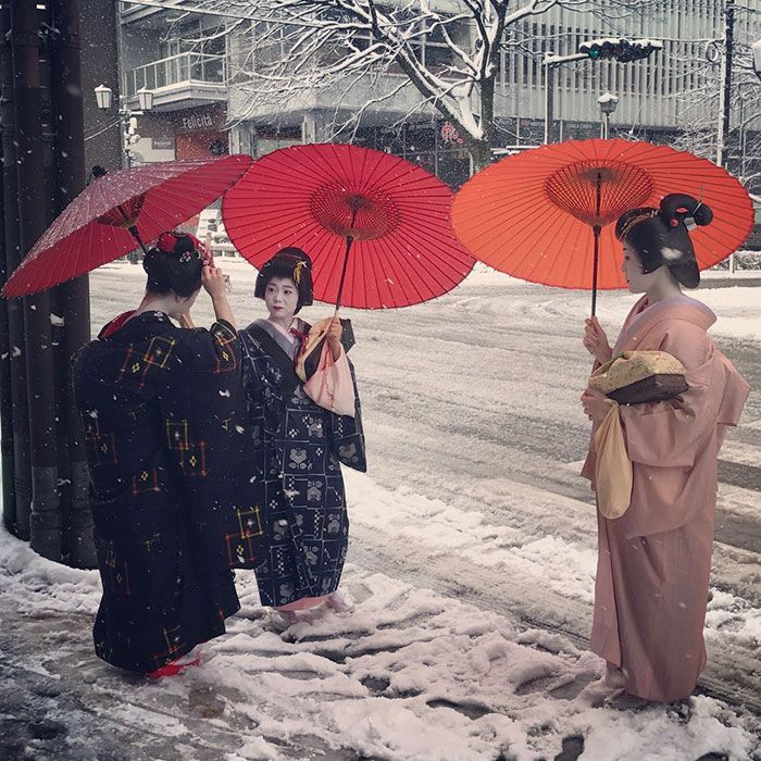 Rare Heavy Snowfall Turns Kyoto Into Winter Wonderland, And The Photos Look Absolutely Magical