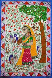 Indigo Arts Gallery | Art from Asia | Indian Folk Painting 1