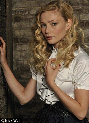 "Clara Paget as Bella in ""St Trinian's 2"""