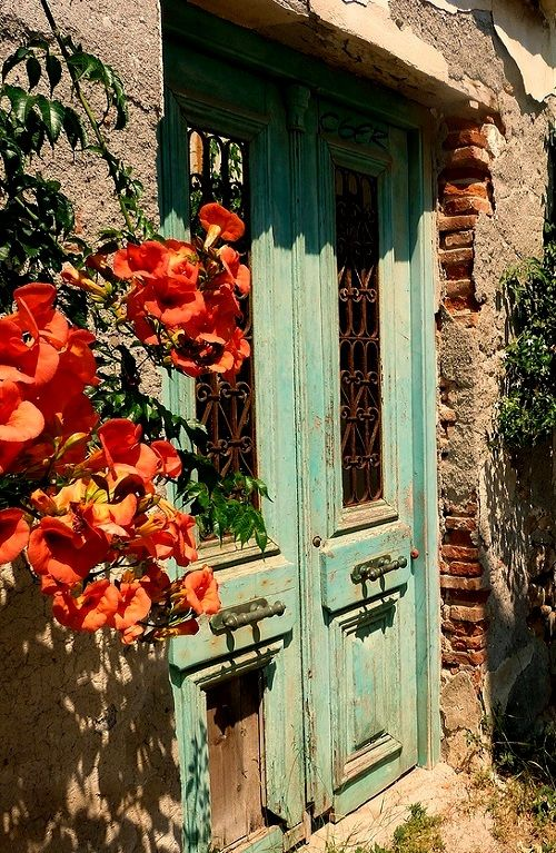 Abandoned house.. Spetses Island (Saronic), Greece | by Marite2007