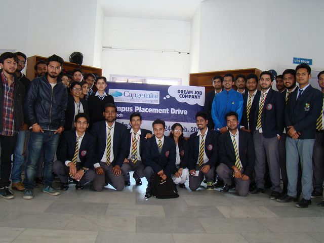 Tula's Institute colleges in Dehradun performned well in Capgemini campus drive.