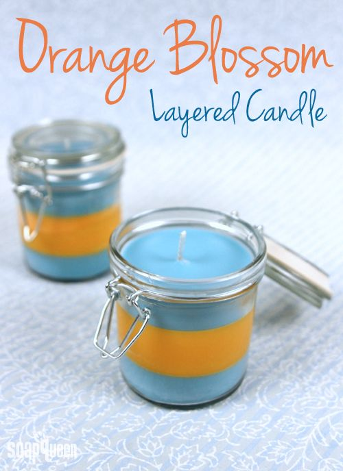 Orange Blossom Candle Tutorial + Candle Tips | Soap Queen (You can also use this recipe to make wax tarts/melts... Deb)