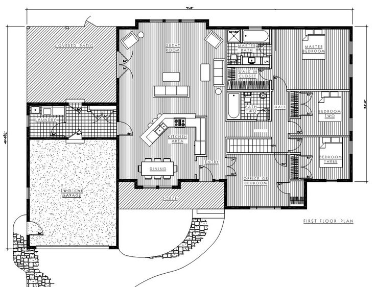 timber floor plans