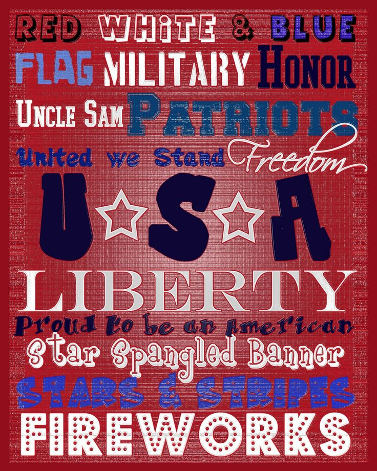 4th of July crafts and printables