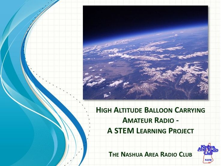 http://www.n1fd.org/2017/03/28/14406/ I just wanted to take a moment and update everyone on our progress on our High Altitude Balloon project. We have secured support from two area high schools for our project Merrimack HS and Bishop-Guertin HS. Currently, we have a total of 10 – 12 young people who have joined our...