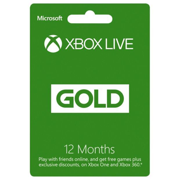 Buy Xbox Live Gold Membership - 12 Months at Argos.co.uk, visit Argos.co.uk to shop online for Xbox LIVE, Xbox One, Video games and consoles, Technology