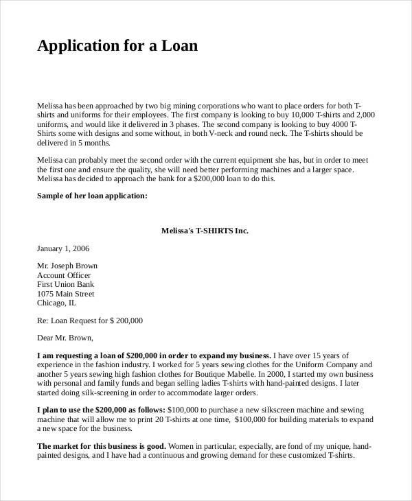 Business Proposal For Bank Loan Template 4 Loan Proposal Templates