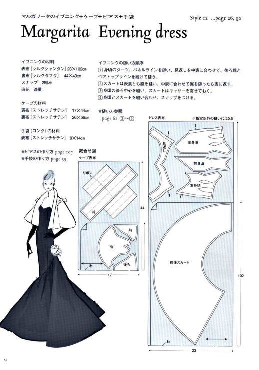 Margarita Evening Dress Pattern - Page 3 of 4