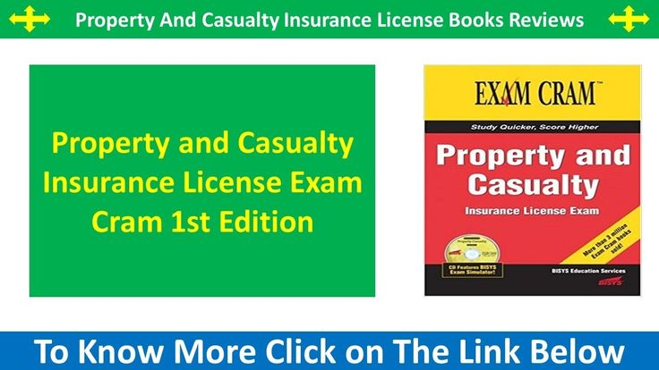 Property And Casualty Insurance License | Property And Casualty Insurance License Books Reviews