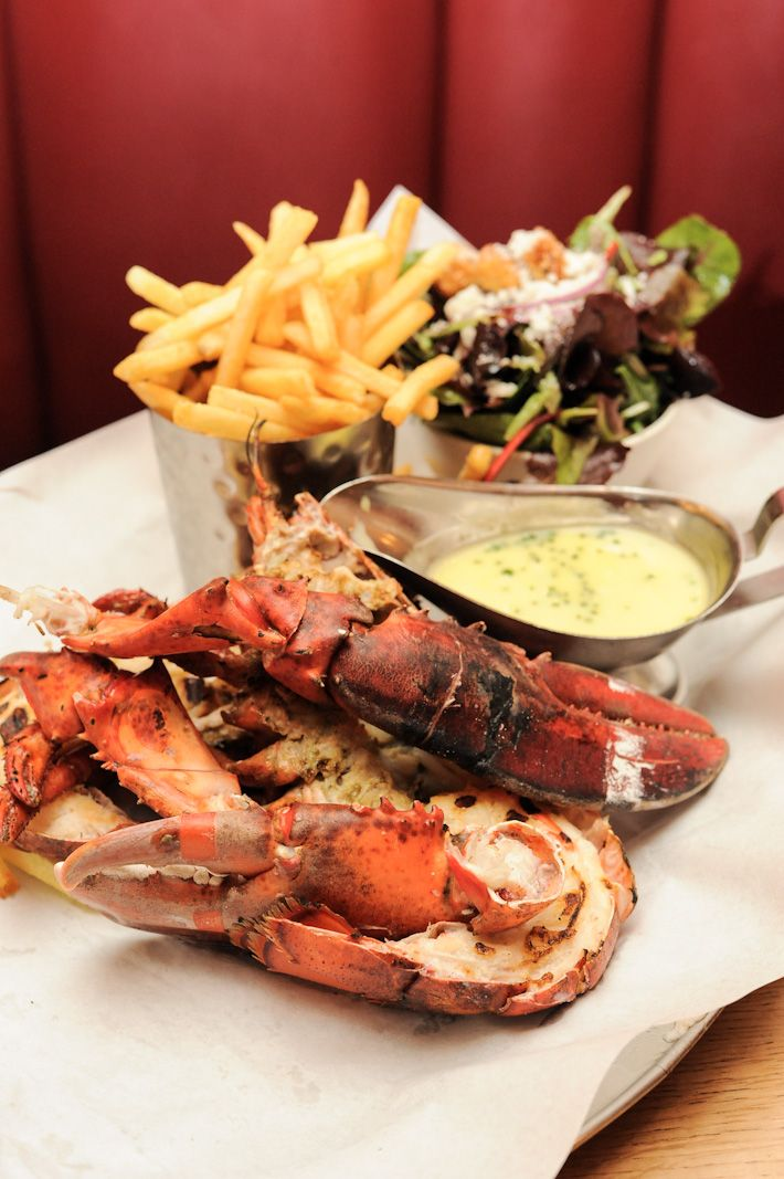 "Burger & Lobster -- the name says it all, really. ""There are only three items on the menu – burger, lobster and lobster roll – and at £20 each, they represent fantastic value."""