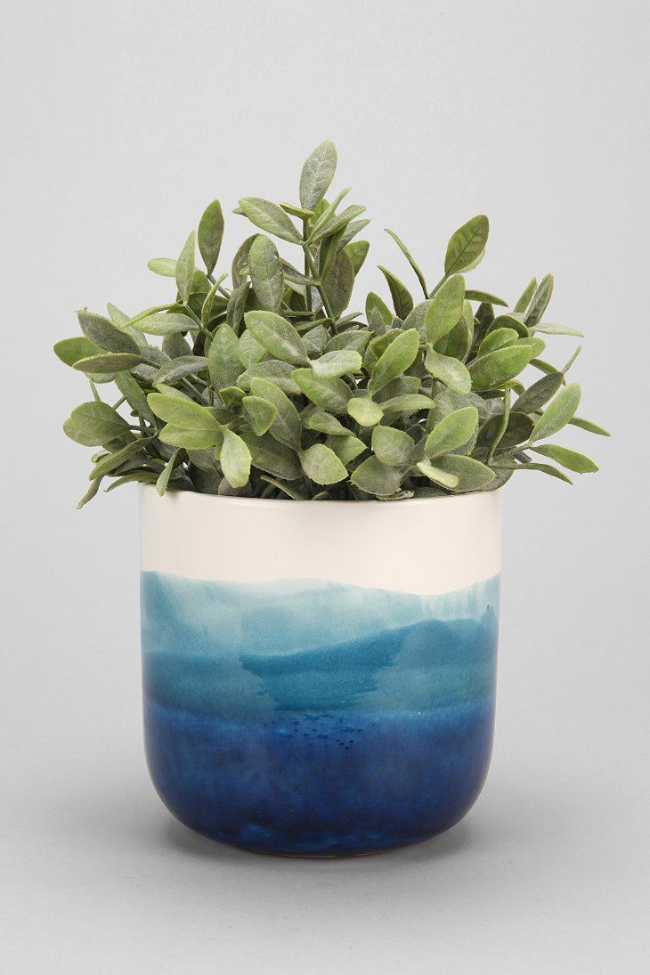 4040 Locust Watercolor Planter from Urban Outfitters