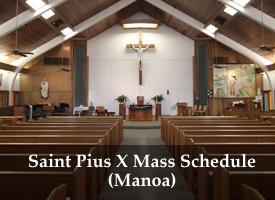 St Pius X church in Manoa (Oahu)