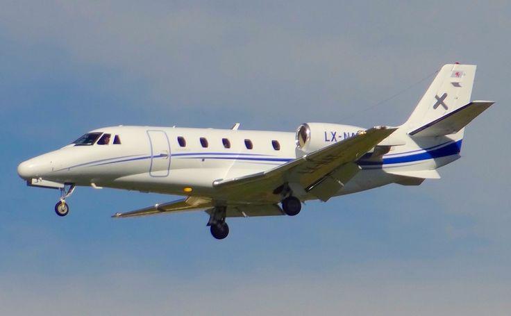 Cessna 560XL Citation XLS, en el Aeropuerto de Barcelona - El Prat el 22-10-2015