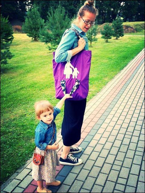 mama & child bag