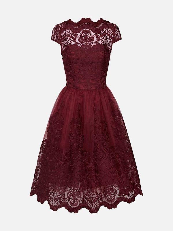 Chi Chi London Kleid Jimima Dress In Bordeaux Bei About You Bestellen Versandkostenfrei Zahlung Auf Re Kleid Bordeaux Firmung Kleider Chi Chi London Kleid