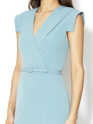 Wrap Front Sheath Dress by Ava & Aiden - Found at #GiltLive via @Gilt