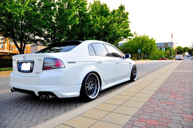 Acura TL-S. OH MY GOD this will be my daily driver someday <3 [Love, love. The TL-S is such a low key shaker. I owned an 04 TL & it had amazing handling & great power for a sedan. You can almost fly. ~sdh/ HHBakes.com]