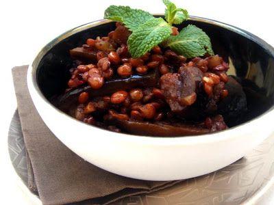 Török lencsés padlizsánragu (mualle) - Chili & Vanilia